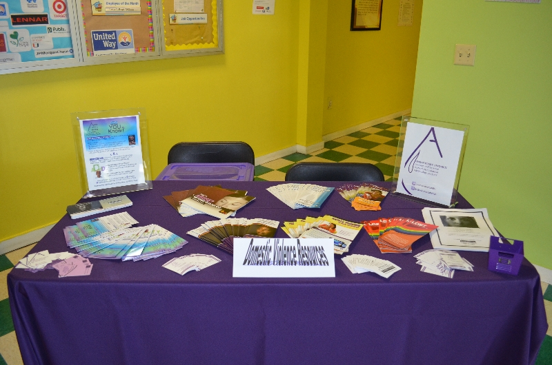 Domestic Violence Resource table